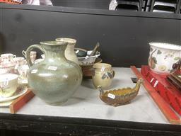 Sale 9101 - Lot 2415 - Collection of Studio Pottery Wares incl. Centre Dishes, etc.