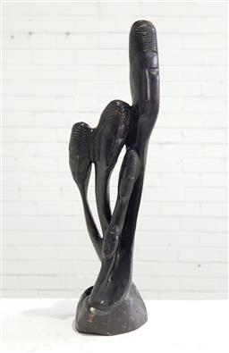 Sale 9129 - Lot 1016 - Carved timber statue