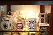 Sale 8014 - Lot 76 - Assortment of  Whisky Jugs incl. Brugerolle Cognac, Jubilee Stout & Others