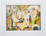Sale 8112A - Lot 54 - Isaac Maimon (1951 - ) - Charming Bistro, 2009 40.5 x 53cm