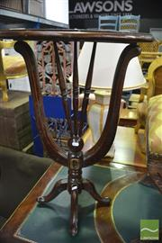 Sale 8386 - Lot 1082 - Mahogany Occasional Table