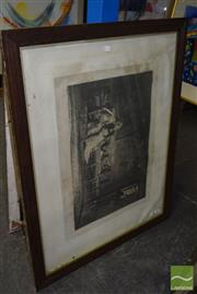 Sale 8509 - Lot 2038 - Early Framed Engraving