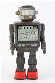 Sale 8818 - Lot 1 - Original 1960's Horikawa Tin Toy Robot Japan (Untested) H:29cm