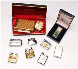 Sale 9107 - Lot 64 - A collection of lighters incl vintage examples