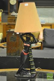 Sale 8287 - Lot 1056 - George Barsony Table Lamp FL -51
