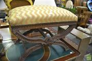 Sale 8386 - Lot 1083 - carved Piano Stool