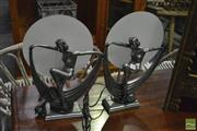Sale 8398 - Lot 1062 - Collection of 4 Figural Lady Lamps
