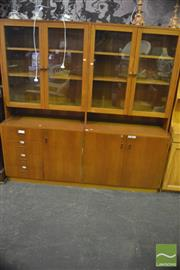 Sale 8364 - Lot 1065 - Large Teak Scientific Bookcase