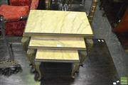 Sale 8386 - Lot 1026 - Nest of 3 Tables