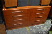 Sale 8528 - Lot 1011 - G-Plan 8 Drawer Teak Chest