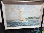 Sale 8573 - Lot 2060 - Print, Under Full Sail