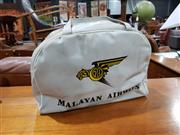 Sale 8765 - Lot 1063 - Vintage Malayan Airlines Travel Bag