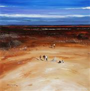 Sale 8847 - Lot 522 - Colin Parker (1941 - ) - Distant Billabong 59 x 58.5cm
