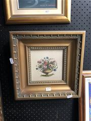 Sale 8841 - Lot 2079 - Ornate Gilt Framed Print of a Still Life