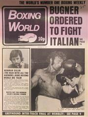 Sale 8419A - Lot 98 - Boxing World - a box of this weekly, 1972-1973, with lots of Ali and Bugner