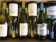 Sale 8519W - Lot 85 - 6x Assorted White Wines incl. Tulloch & Oyster Bay