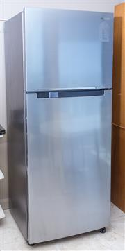 Sale 8593A - Lot 83 - A Samsung Digital Inverter stainless steel fridge freezer, model S/N SR469MLS, H 177 x W 70 x D 162cm (Please see sale comments for...