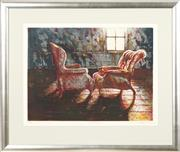 Sale 8811 - Lot 2005 - Mike Green - Two Chairs, 1984 44.5 x 60cm