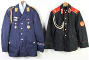 Sale 8952 - Lot 86 - Soviet Union CBY (SVU) Tunic Together With A German Airforce Tunic