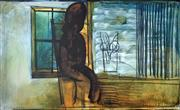 Sale 8996A - Lot 5008 - Charles Blackman (1928 - 2018) - Girl By a Window 112 x 177 cm
