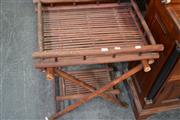 Sale 8066 - Lot 1083 - Bamboo Butlers Tray