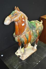 Sale 8175 - Lot 1007 - Ceramic Tang Style Horse