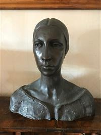 Sale 8392H - Lot 22 - - Bust of a woman