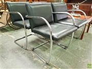 Sale 8566 - Lot 1108 - Set of Four Miles Van De Roe Bruno Chairs