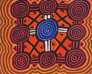 Sale 8848A - Lot 5065 - Johnny Ameroo - Kangaroo Dreaming 73.5 x 91cm (stretched and ready to hang)