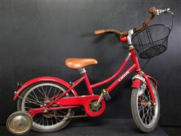 Sale 9254 - Lot 2395 - A vintage Linus kids Bicycle with leather handles & seat.