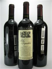 Sale 8238B - Lot 76 - 3x 1995 Yalumba The Signature Cabernet Shiraz, Barossa Valley