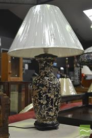 Sale 8312 - Lot 1044 - Pair of Chinese Museum Replica Table Lamps (4203)