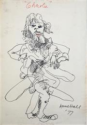 Sale 8466A - Lot 5079 - Anne Hall (1946 - ) - Charlie, 1977 101 x 75cm (sheet size)