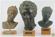 Sale 8521 - Lot 51 - Classical Busts (3)