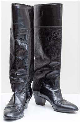 Sale 9162H - Lot 99 - A pair of Pollini Boots, 1216 Size 37 W45