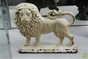 Sale 8226 - Lot 46 - Cast Iron Lion Doorstop