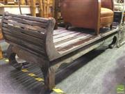 Sale 8412 - Lot 1086 - Indonesian Teak Daybed