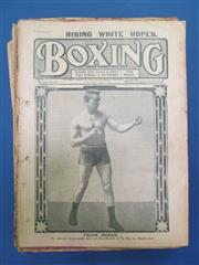 Sale 8450S - Lot 741 - Boxing 1912 - the full year in good condition