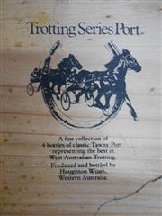 Sale 8454W - Lot 98 - 1x Houghton Vineyards Trotting Series Port - 4 bottles in timber box