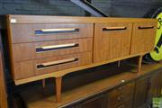 Sale 8528 - Lot 1042 - Elliots of Newbury Teak Sideboard