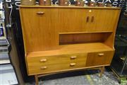 Sale 8550 - Lot 1100 - G-Plan Sideboard with Drop Front and 2 Drawers