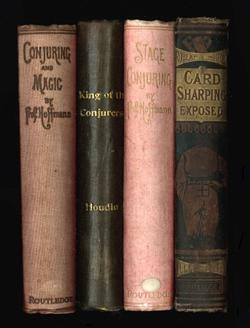 Sale 7919A - Lot 1815 - Robert Houdin Secrets of Conjuring & Magic, King of the Conjurers, Stage Conjuring & Card Sharper