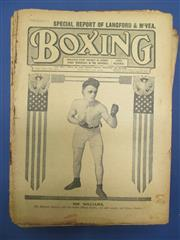 Sale 8450S - Lot 742 - Boxing 1913 - the full year