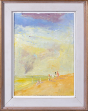 Sale 8677B - Lot 900 - Will Blundell, Summer, oil on board, initialled lower right 37 x 26cm