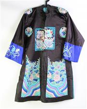 Sale 8902C - Lot 673 - Two Silk Chinese Coats