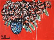 Sale 8918A - Lot 5002 - Yosi Messiah (1964 - ) - Magic Red 75 x 100 cm