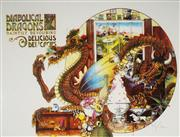 Sale 8961A - Lot 5083 - Graeme Base (1958 - ) - Diabolical Dragons 50.5 x 76 cm (sheet)