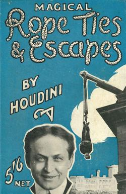 Sale 7919A - Lot 1808 - Harry Houdini Magical Rope Ties & Escapes
