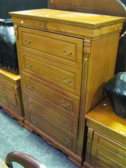 Sale 7937A - Lot 1117 - Tall Chest of 5 Drawers