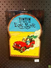 Sale 8645 - Lot 2097A - Tintin Sign